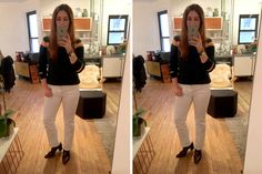 How to take a good mirror selfie. Super important for OOTDs even if only your cat cares.