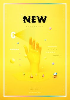 A New Beginning on Behance