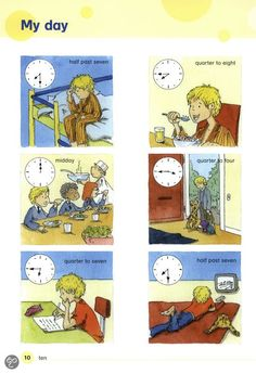 Tijd + Dagelijkse activiteiten II.