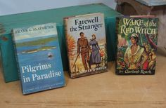 Stack of 3 Vintage Books Pilgrims in by 13thStreetEmporium on Etsy