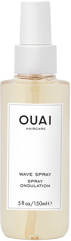 Sexy Summer Hair is Beachy Waves in a bottle! Yes OUAI! Please and Thanks  OUAI Wave Spray