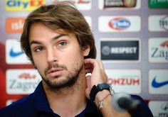 Vote Top 20 Handsome Football Players - Niko Kranjcar Niko Kranjcar, Handsome Football Players, Hockey, Sexy, Top, Missing Home, Croatia, Cute Football Players, Crop Shirt