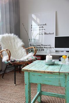 Spring mood {livingroom}