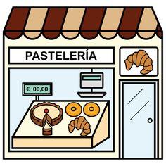 Pictogramas ARASAAC - Pastelería.
