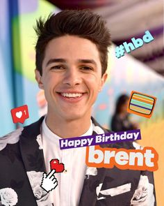 Brent Rivera, Youtubers, Squad, Idol, Fans, Happy Birthday, Celebrity, Happy Brithday, Urari La Multi Ani
