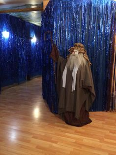 VBS 2014 wilderness escape. Moses parting the red sea