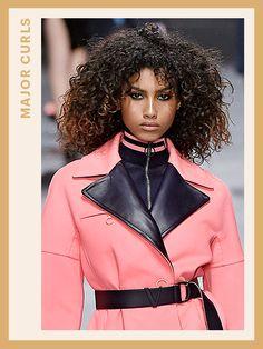 Fashion Week Hair - Versace | allure.com