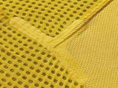 Nike-Unveils-New-Brasil-National-Team-Jersey-5 / detail / textile / trim / yellow / mesh