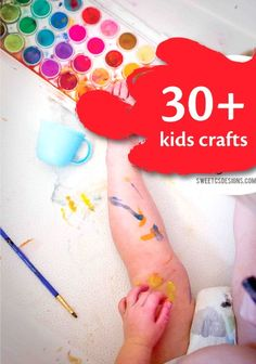 PIN FOR LATER: 30+ kids crafts to get them imagining! | easy DIY kid's crafts and art projects