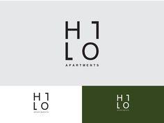 Przepis na Dizajn Logo Hilo Apartments 3