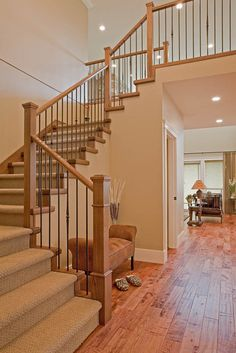 Wrought Iron Wood Balusters Design, Pictures, Remodel, Decor and Ideas - page 7