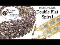 Video: Make a Double Flat Spiral Bracelet ~ Seed Bead Tutorials