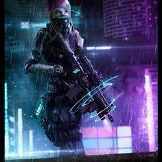 . Cyberpunk PMC by Phelan A. Davion