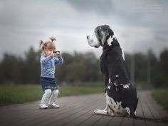 Little Kids with their Big Dogs - Andy Seliverstoff – WikiLinks