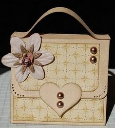 for the shopper in your life (or in my case, for my mother-in-law who LOVES purses! Scrapbook Cards, Scrapbooking, Paper Purse, Shaped Cards, Craft Bags, Card Tutorials, Diy Cards, Handmade Cards, Card Tags