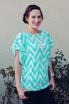 Image of Lesley Flutter Top for Women (sizes 0-26)