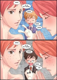 This Ouran Host Club / Harry Potter crossover is one of the best things ever!
