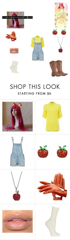 """apple bloom"" by bluesakurarose on Polyvore featuring My Little Pony, Episode, Forever New, Latelita, Silver Luxuries, Aspinal of London and Falke"