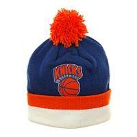 New York Knicks KE31z Knit Beanie by Mitchell and Ness