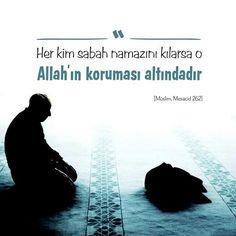 ⏳ Her kim sabah namazını kılarsa o, Allah'ın koruması altındadır.  [Müslim, Mesacid 262]  #sabah #namaz #sabahnamazı #Allah #koruma #altında #hadis #islam #müslüman #müminler #hadisişerif #ilmisuffa