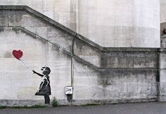 New dream- go to London and discover Bansky.