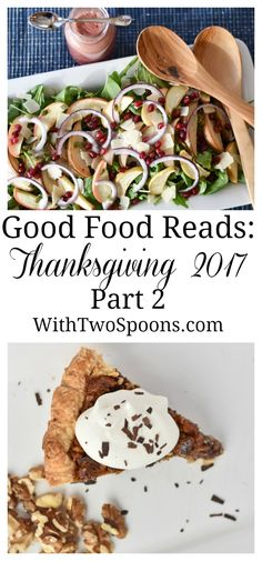 Looking for more dishes for your Thanksgiving table?  Look no further than our recipe round up!  WithTwoSpoons.com