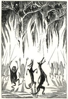 Vintage Illustrations for Tolkien's The Hobbit from Around the World | Brain Pickings