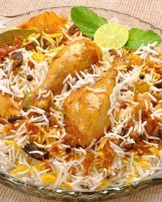 Gluten Free and Low FODMAP Recipe - Chicken biryani