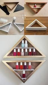 DIY nail polish organizer ideas - So Hairstyle