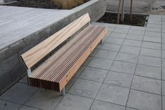 Exterior benches | Street furniture | woody | mmcité | Radek. Check it out on Architonic