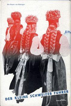 Der Kleine Schweizer Führer, 1935. Back cover photomontage by Herbert Matter