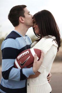Football Wedding Theme Ideas - Unique Sports Wedding Ideas | Wedding Planning, Ideas & Etiquette | Bridal Guide Magazine sports weddings, sport themed wedding ideas #wedding
