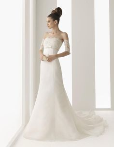 Modest Wedding Dresses | Modest wedding dress-Discount Unusual wedding dresses-money save ...