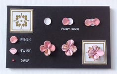 Pinch and Twist flower by Neil Burley using Create with Candi.