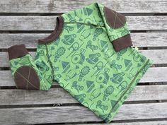Tutoriale DIY: Cómo coser coderas a una camiseta vía DaWanda.com
