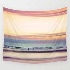 Pastel Horizons Wall Tapestry