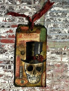 TheWonderFound: Tim Holtz 12 Tags of 2016 - OCTOBER