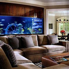 Resultado de imagem para aquarios encastrados