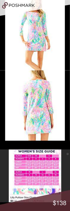 🌞NWT Lilly Pulitzer Dress Sophie L Fan Sea Pants 🌞NWT Lilly Pulitzer Dress Sophie L Fan Sea Pants UPF 50+🌞 Dresses Mini