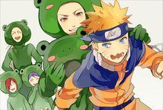 Mon (Pixiv3333736), NARUTO, Uzumaki Naruto, Yahiko, Jiraiya (NARUTO), Konan