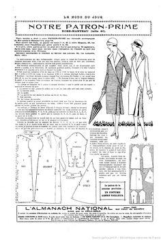 La Mode du jour. 1925/09/10