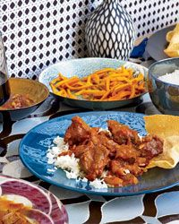 Looks really simple.... Pickling-Pot Lamb Curry (Martabaan Ka Meat) Recipe from Food & Wine