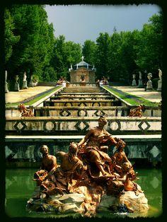 """Gardens of """"La Granja de San Ildefonso""""  - Segovia."""