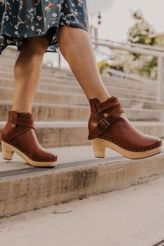 New spring accessories for women! Shop Spring accessories, wellness products, jewelry and more now! Cute and stylish shoes and accessories! Leather Clogs, Leather Sneakers, Tan Leather, Free People Clogs, Boho Shoes, Pink Shoes, Women's Shoes, Clogs Outfit, Clog Boots