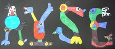 Kunst nach Otmar Alt Alter, Kids Rugs, Letters, Fall, Names, Home Decor, Art Education Resources, Projects, Creative