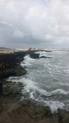Praia de Pirangi, RN, Brasil