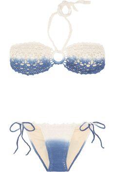 Lisa Maree|The Instigators crochet-knit bikini  Check out HOT Travel Deals here http://www.mosaictour.net/
