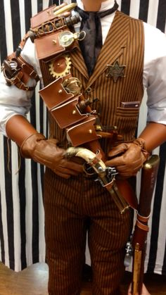 Steampunk Weapons | Dallas Vintage and Costume Shop