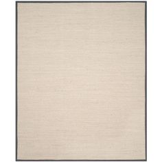 Natural Fiber Marble/Dark Grey 9 ft. x 12 ft. Area Rug