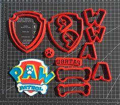 Paw Patrol Logo 266 604 Cookie Cutter Set Paw Patrol